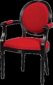 Stylowy fotel typu Ludwik XVI krzesło model B-1001-V z Meble Radomsko
