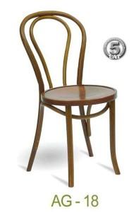 Gięte krzesło restauracyjne AG-18
