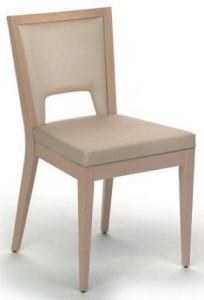 Nowoczesne krzesło drewniane AS-0702