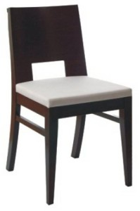 Nowoczesne krzesło drewniane AS-0805