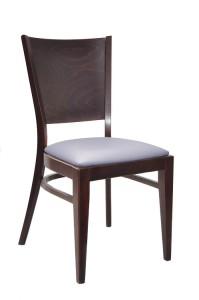 Krzesło nowoczesne tapicerowane AT-3917 do restauracji sztaplowane