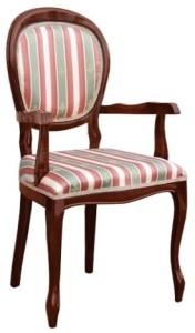 Sylowy fotel B-1002-V1 meble stylowe z Radomska