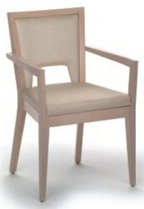 Drewniany fotel nowoczesny BS-0702
