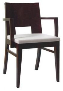 Nowoczesny fotel drewniany BS-0805