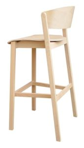 Hoker nowoczesny drewniany CAVA-BST designer Yago Sarri
