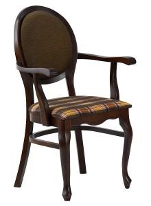 Fotel stylowy BR-9702-1N