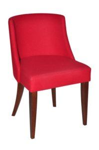 Krzesło restauracyjne tapicerowane AS-Aluna