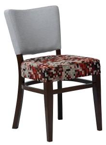 Tapicerowane krzeslo nowoczesne AR-9608 typu TULIP