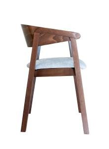 Fotel nowoczesny Cava BS z drewna bukowego sprawdzony w restauracji