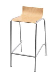 Krzesła barowe metalowe Davne-BSD-dr
