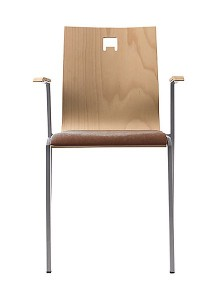 Krzesła metalowe Davne-BD-dr-ns