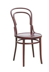 Krzesło gięte bukowe AG-14-1 pierwsze krzesło gięte jakie wymyślił Michael Thonet tzw nr 14