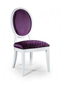 Krzesło stylowe białe AK-0255