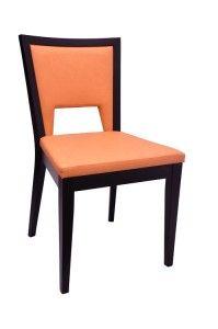 Nowoczesne krzesło tapicerowane A-0702 do restauracji