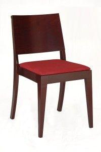 Nowoczesne krzesło drewniane AS-0504-T