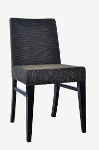 Krzesło nowoczesne czarne AS-0807
