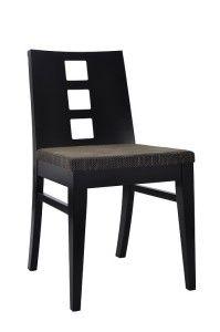 Krzesło nowoczesne AS-0809 kolor czarny