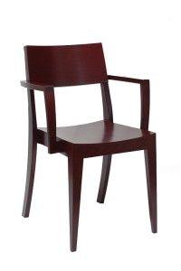 Nowoczesny fotel drewniany BS-0503