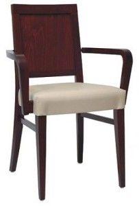 Nowoczesny fotel drewniany BS-0801 Meble Radomsko