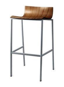 Krzesło metalowe barowe Ritto-BSD-dr