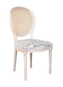 Krzesło stylowe A-1001-V-wypl
