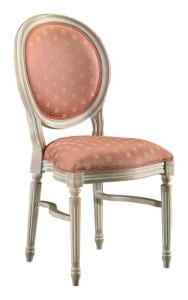 Stylowe krzesło sztaplowane do restauracji A-1001-V ST oryginalne włoskie krzesło typu LUDWIK XVI przeznaczone do restauracji