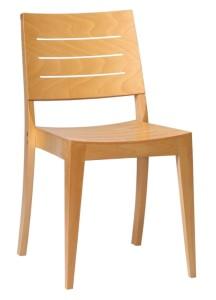 Drewniane krzesło kuchenne A-9230