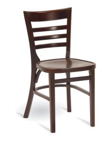 Krzesła sztaplowane AP-9003 drewniane do baru