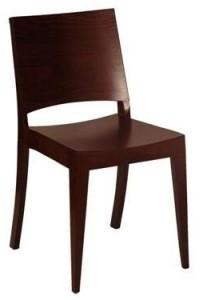 Krzesło sztaplowane drewniane nowoczesne AS-0505