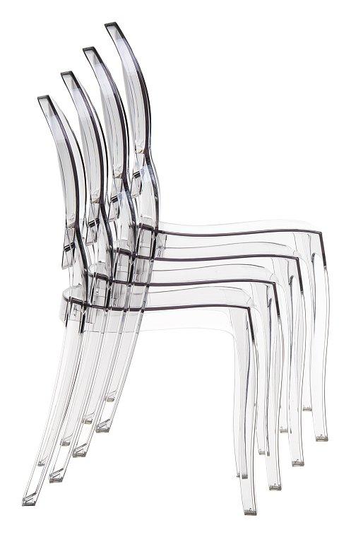 Zupełnie nowe Krzesła z poliwęglanu Eliza sztaplowane » KRZESŁA RADOMSKO EO77