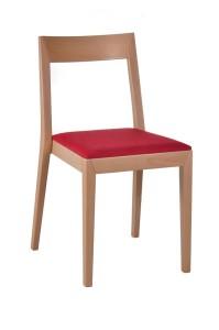 Krzesło restauracyjne drewniane AS-2310