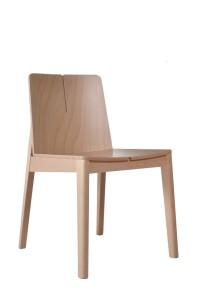 Krzesło restauracyjne drewniane Bart AS..
