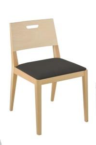 Krzesło restauracyjne drewniane Nowa AS