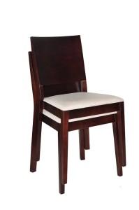 Krzesło restauracyjne sztaplowane Caren AS.
