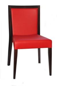Krzesło restauracyjne sztaplowane do restauracji Megi AS.