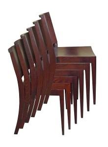 Krzesła sztaplowane AS-0505 6sztuk