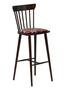 Krzesło barowe drewniane BST-5900N-tap