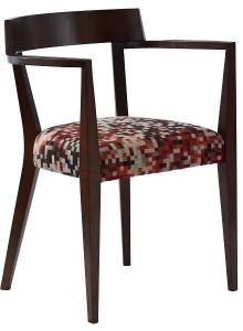Krzeslo drewniane EXA-BN