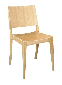 Krzesło sztaplowane AS-0504-dab
