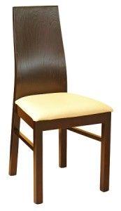 Drewniane krzesło kuchenne A-0628