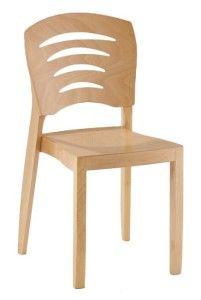 Krzesło sztaplowane do restauracjiAF-0257 ST