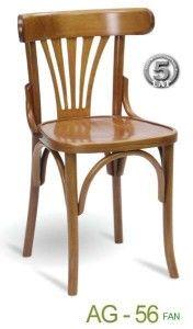Krzesło gięte kuchenne AG-56 fan