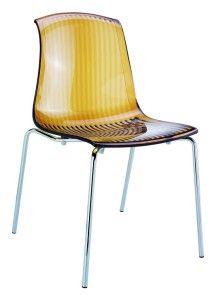 Krzesło do kuchni Alegro bursztyn