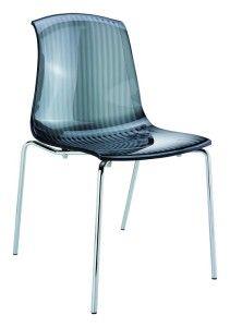 Krzesło nowoczesne kuchenne Alegro czarny