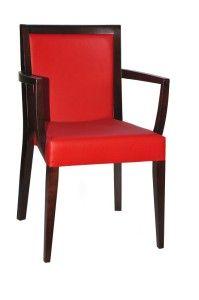 Fotel restauracyjny sztaplowany Megi BS