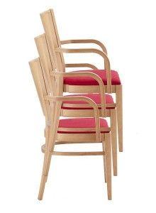 Fotele sztaplowane BT-3917-ST