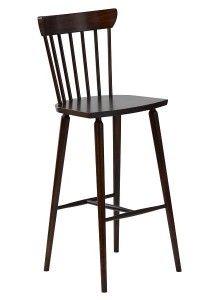 Hoker barowy drewniany BST-5900N krzesło barowe typu BST-5910 fameg