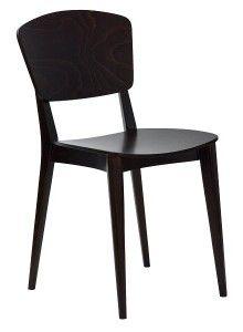 Krzesło sztaplowane do restauracji PEBLE-AN