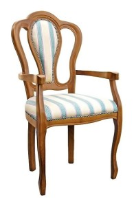 Stylowy fotel tapicerowany B-1008-V