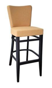 Hoker barowy tapicerowany BSP-0020 krzesło barowe typu Tulip